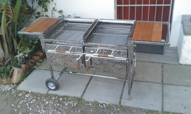 Portable Braai Stand Designs : Stainless steel braai products botany